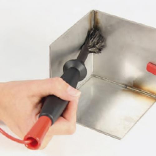 Устройство для очистки углов сварных швов (Clean Marker Brush)