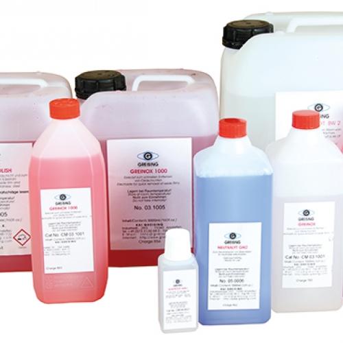 Электролиты для оборудования по очистке сварных швов