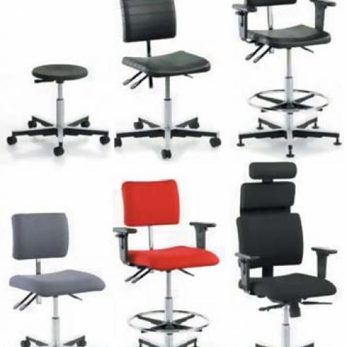 Промышленные стулья и кресла