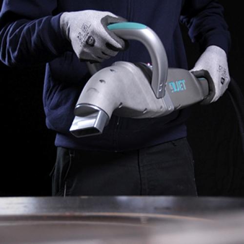 Оптоволоконный лазер для очистки металла, пластика, резины