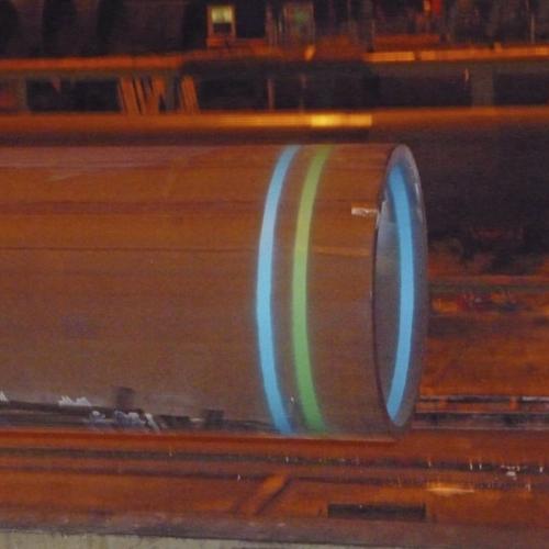Маркировка линий, точек (метод распыления)