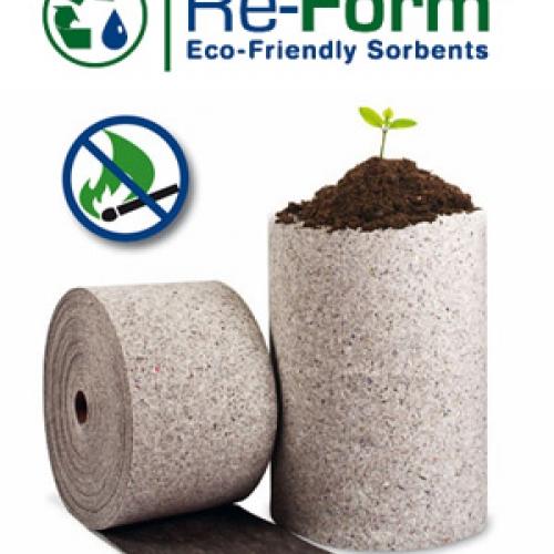 Re-Form - экологически чистые сорбирующие материалы (BRADY)