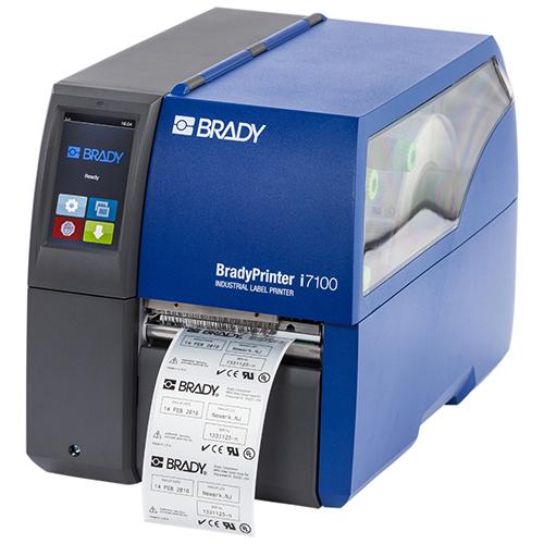 Термотрансферный принтер этикеток I7100 (BRADY)
