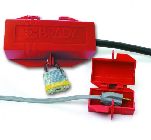 Блокираторы для промышленных штепсельных разъемов Brady