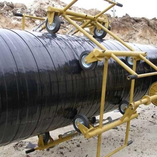 Защитная лента для промышленных, грунтовых и подземных труб.