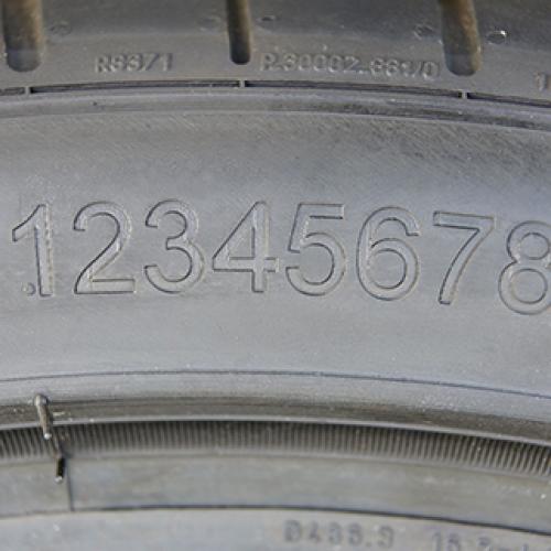 Лазерная маркировка шинной продукции, и изделий из резины