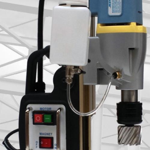 Магнитно-сверлильный станок (MAGPRO 50/2s) 2-х скоростной, с регулировкой хода до 230 мм