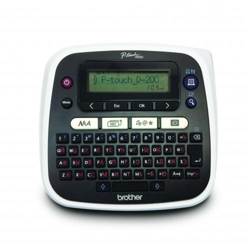 Термотрансферный принтер PT-D200 (Brother)
