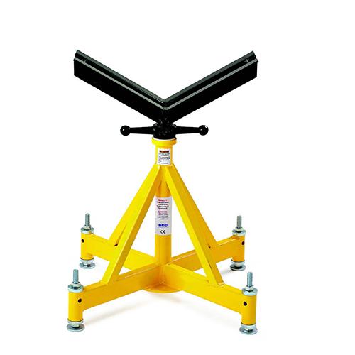 Опора для удержания, обработки, и передвижения труб, весом от 1 200 кг., до 2 265 кг., с регулировкой по высоте