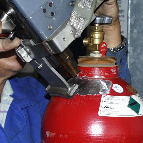 Маркировка газовых балонов