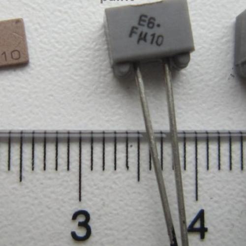 Лазерная маркировка керамических конденсаторов