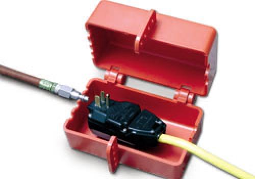 Большой блокиратор электро- или пневмомагистралей Brady