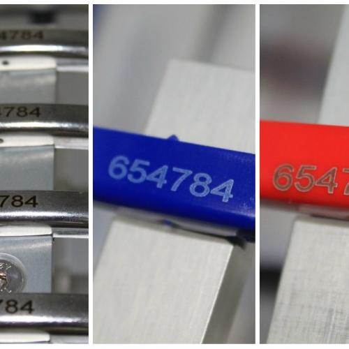 Лазерная маркировка различных материалов (металл, пластик) на одном лазере