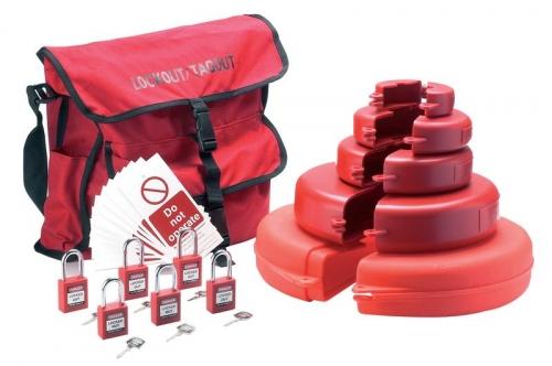 Комплект блокираторов для запорных вентилей