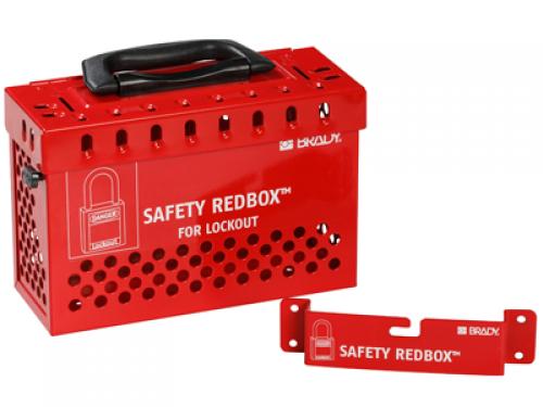 Групповой блокировочный бокс SAFETY REDBOX™ красный