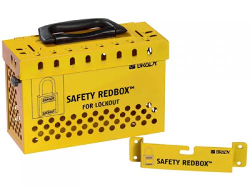 Групповой блокировочный бокс SAFETY REDBOX™ желтый