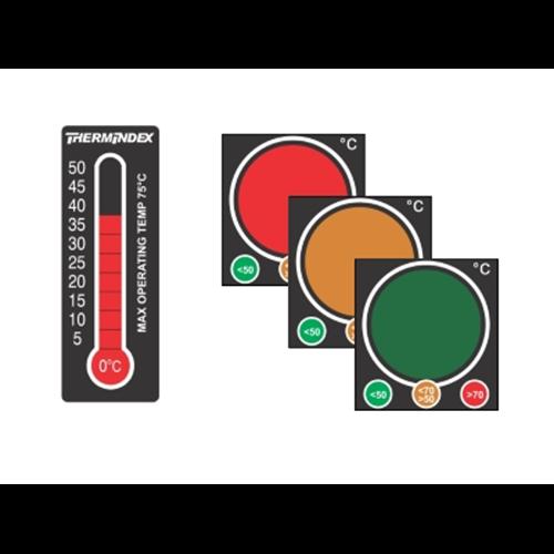 Этикетки температурные (многоразовые) BRADY